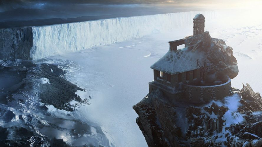 artwork Game of Thrones the great wall Sergey Musin wallpaper