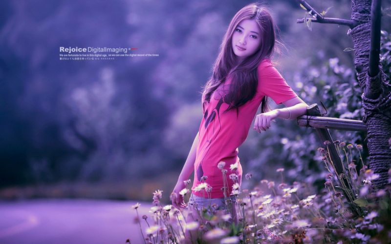 women models Asians wallpaper