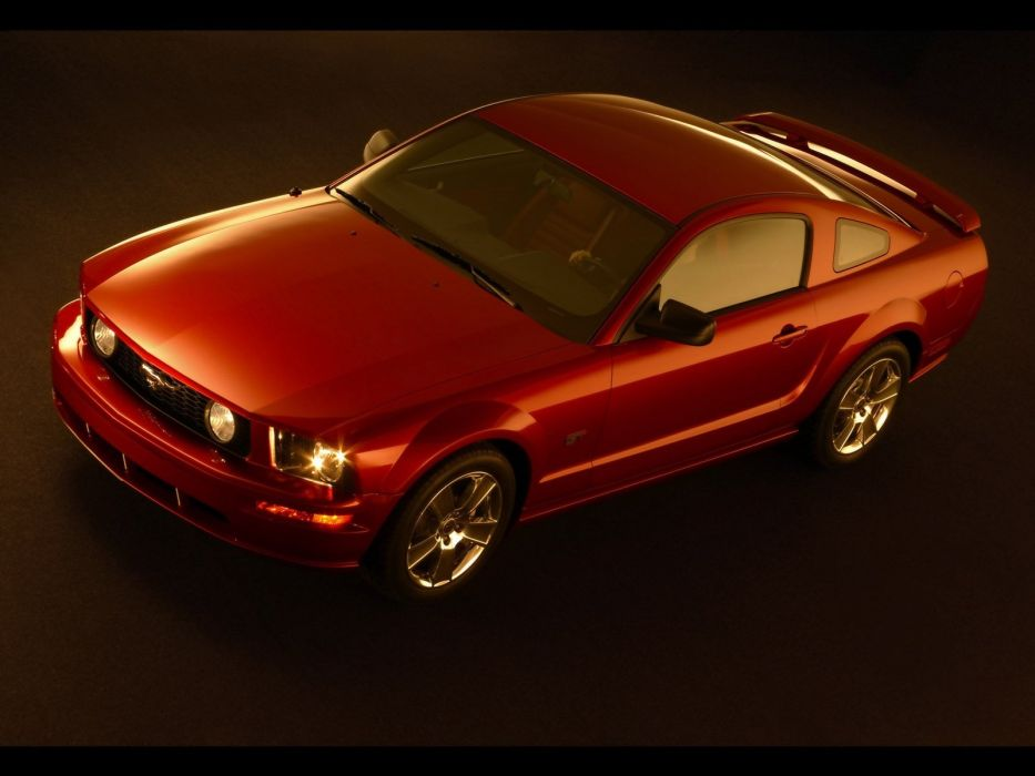 studio vehicles Ford Mustang Ford Mustang GT wallpaper