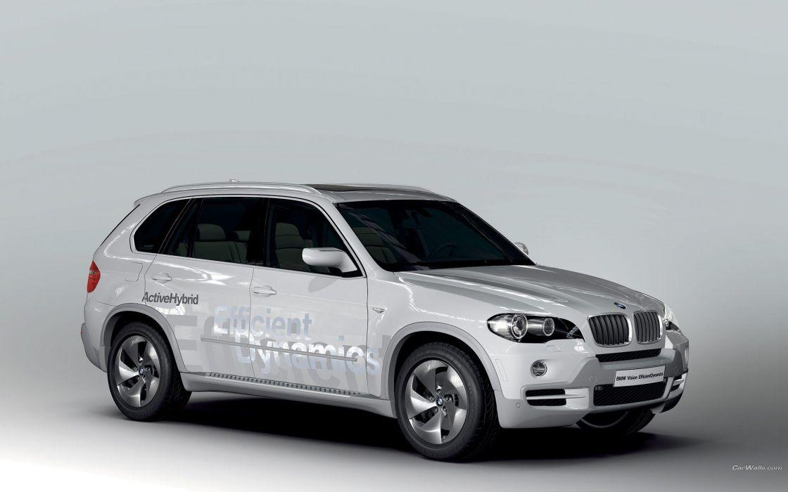 BMW cars Hybrid automotive BMW X5 wallpaper