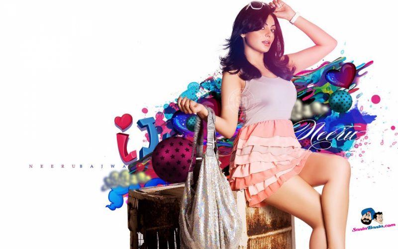 actress models indian girls Neeru Bajwa wallpaper