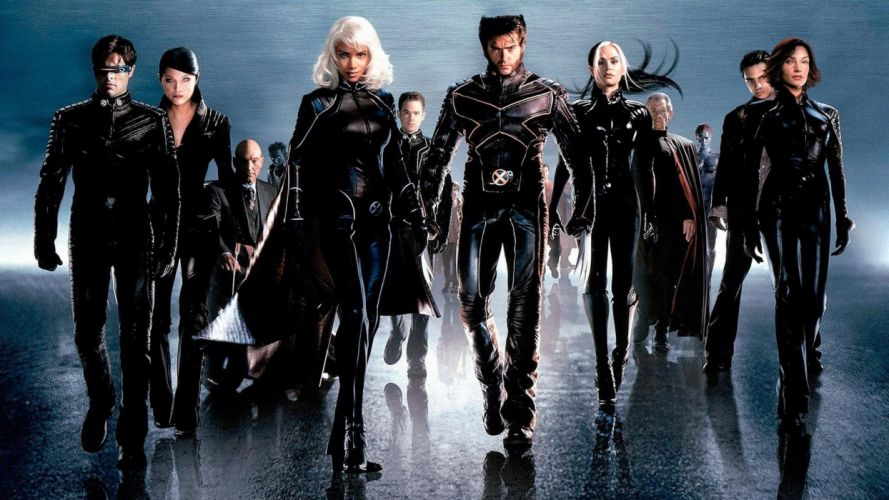 movies X-Men mutant groups Halle Berry Famke Janssen Rogue Hugh Jackman Ian Mckellen James Marsden Storm (comics character) wallpaper