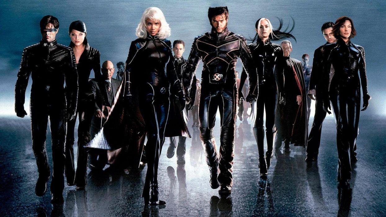 movies x-men mutant groups halle berry famke janssen rogue hugh