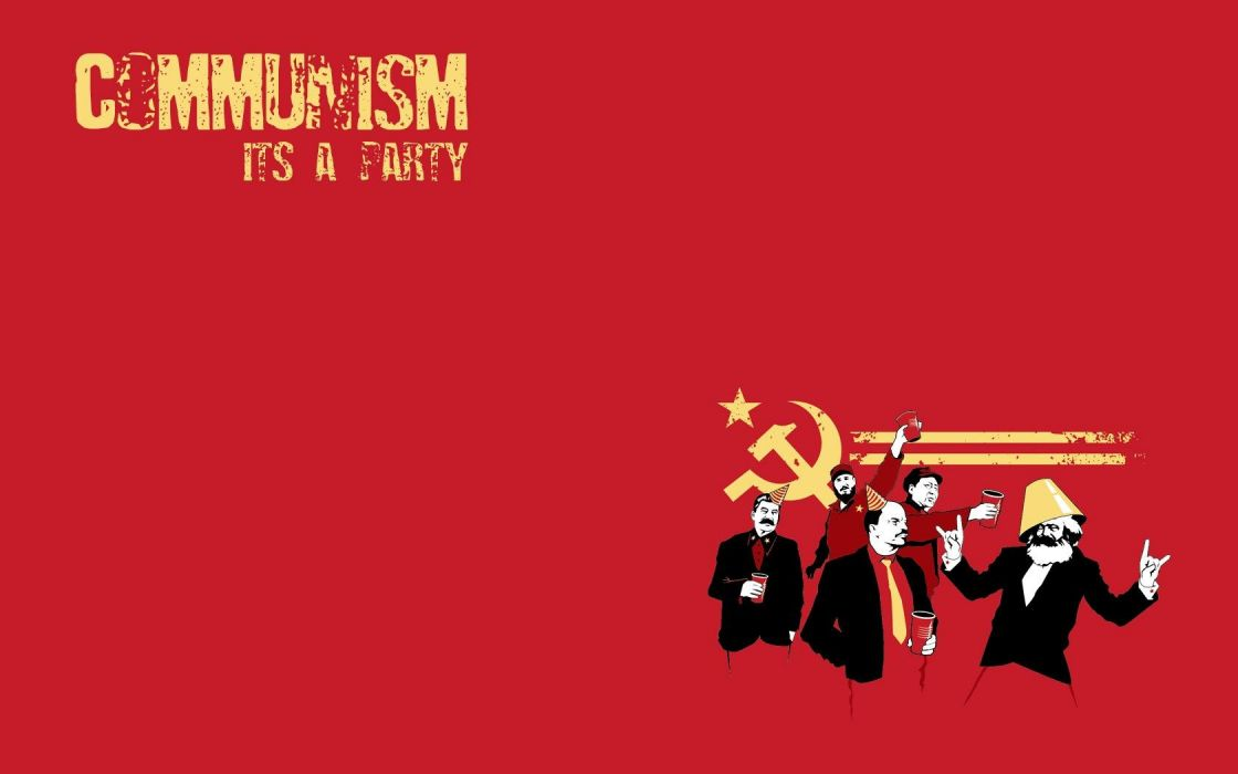 communism funny party wallpaper