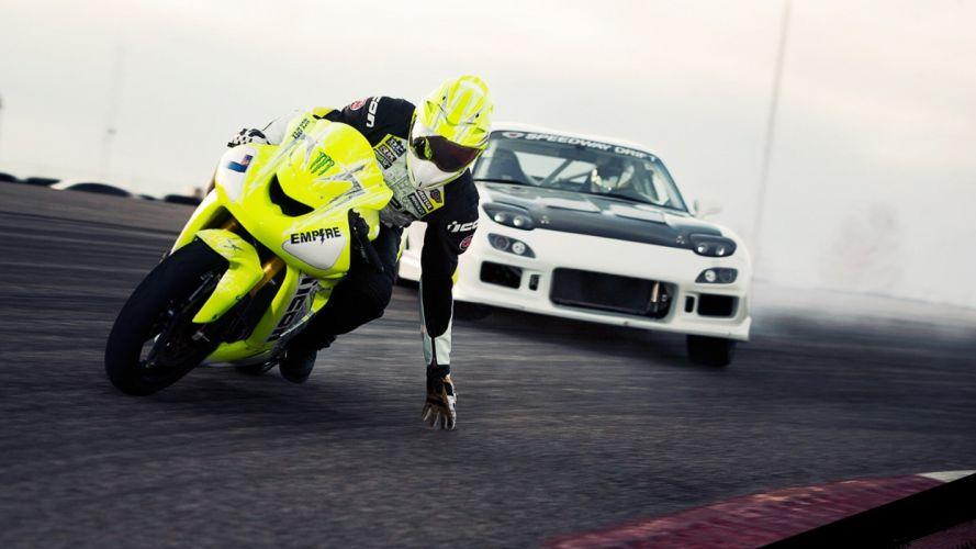 cars vehicles wheels motorbikes Mazda RX-7 FD automobiles wallpaper