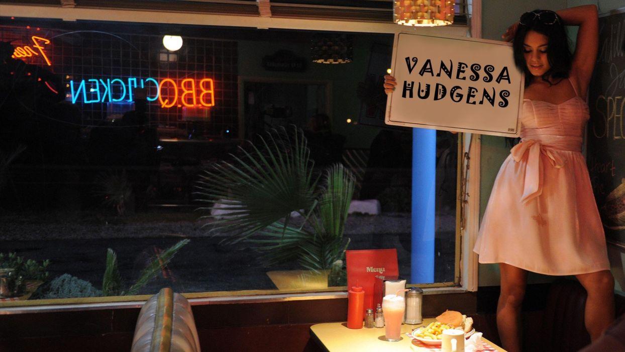 brunettes women celebrity Vanessa Hudgens wallpaper