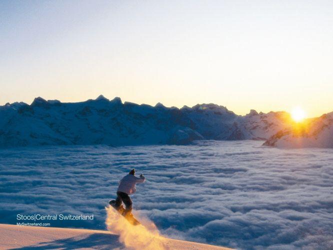 nature snowboard wallpaper