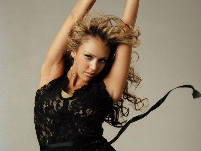 blondes women Jessica Alba actress celebrity wallpaper