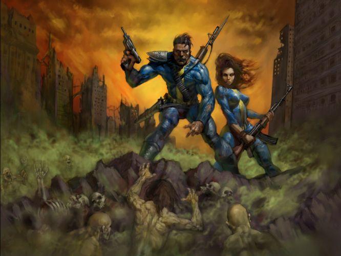 Fallout vault wallpaper
