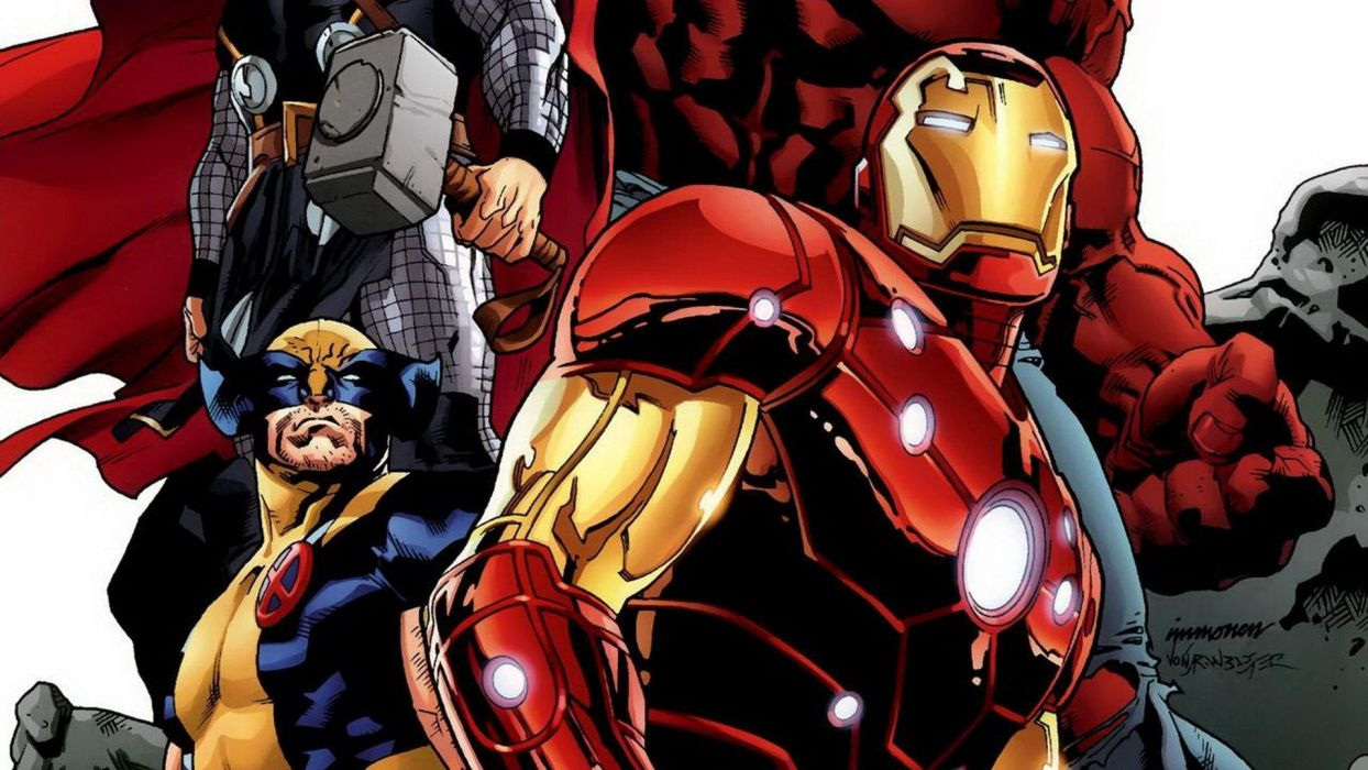 Iron Man comics Thor Wolverine Marvel Comics Avengers wallpaper
