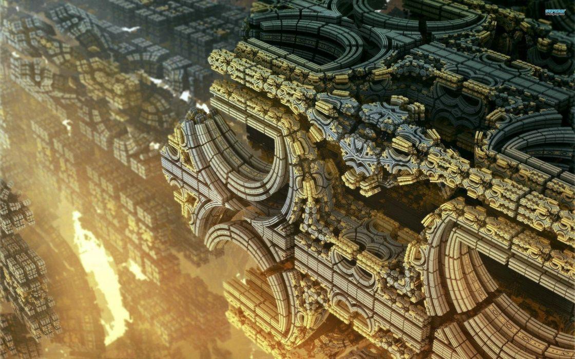structure Alien wallpaper