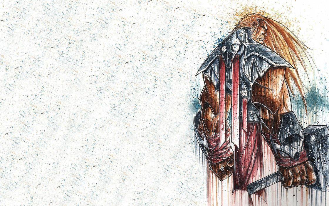 minimalistic Thor superheroes fantasy art artwork The Avengers wallpaper