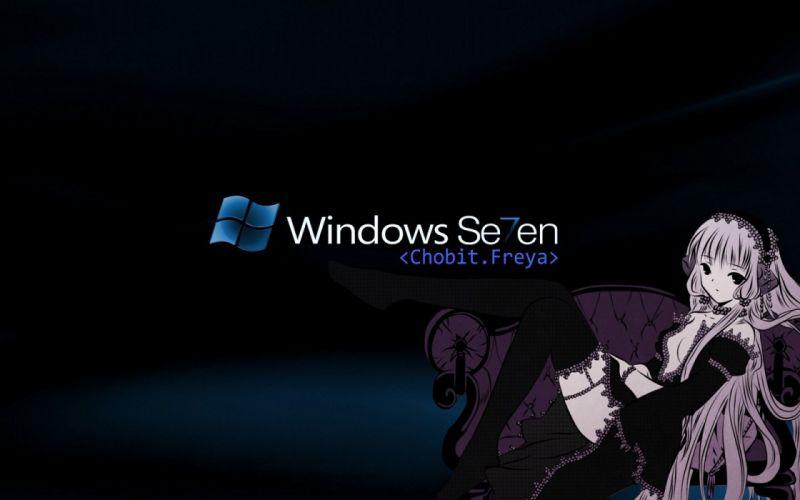 Windows 7 Freya wallpaper