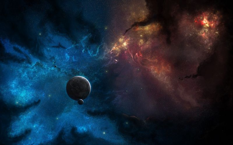 outer space planets space wallpaper