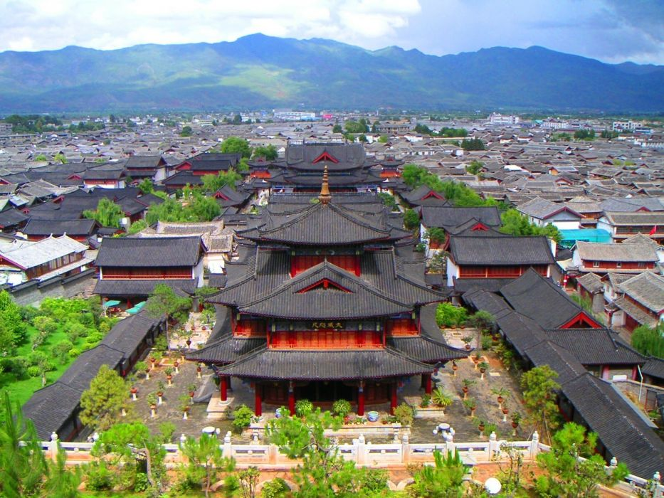landscapes cityscapes China cities wallpaper
