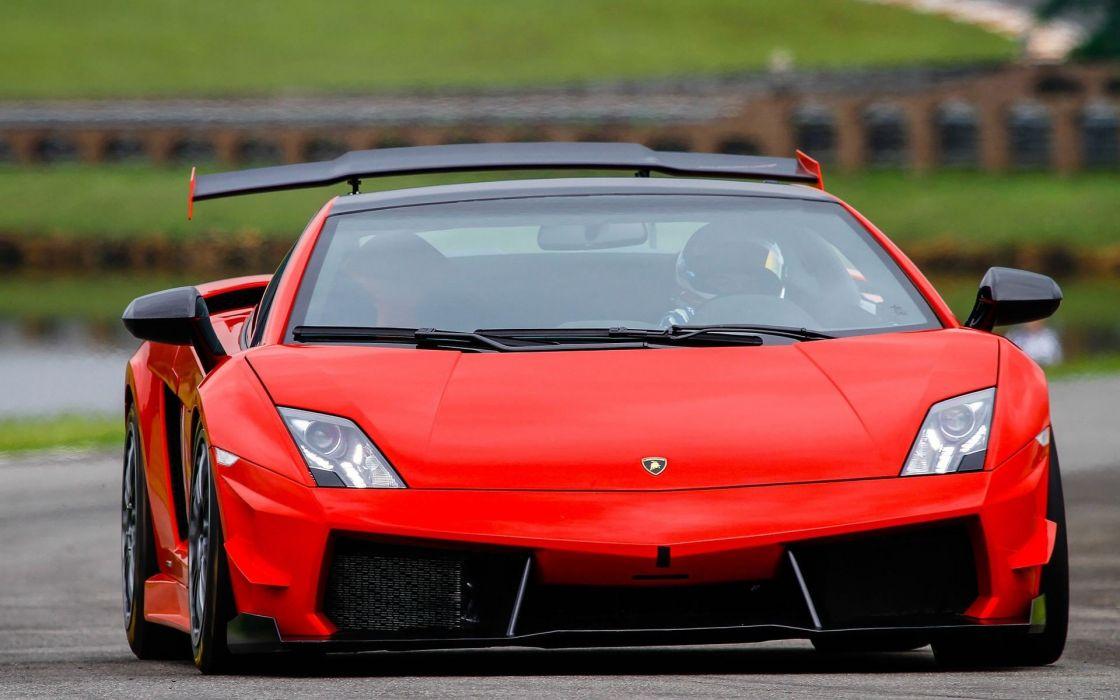 cars Lamborghini track Lamborghini Gallardo races lamborghini Gallardo STS wallpaper