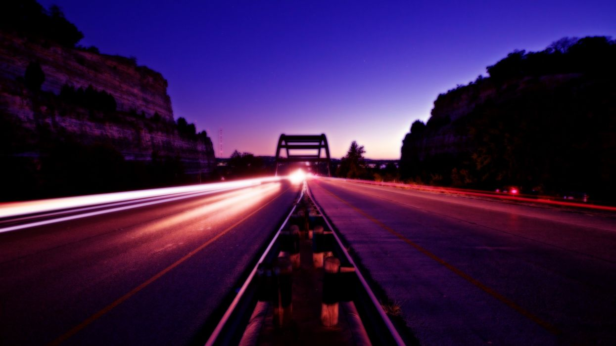 architecture roads long exposure wallpaper