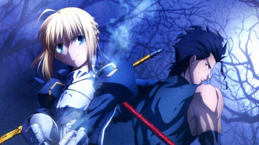 Saber Fate/Zero Lancer (Fate/Zero) Fate series wallpaper