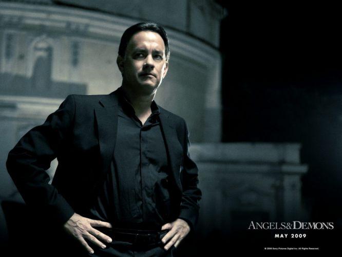 movies Tom Hanks Angels and Demons wallpaper