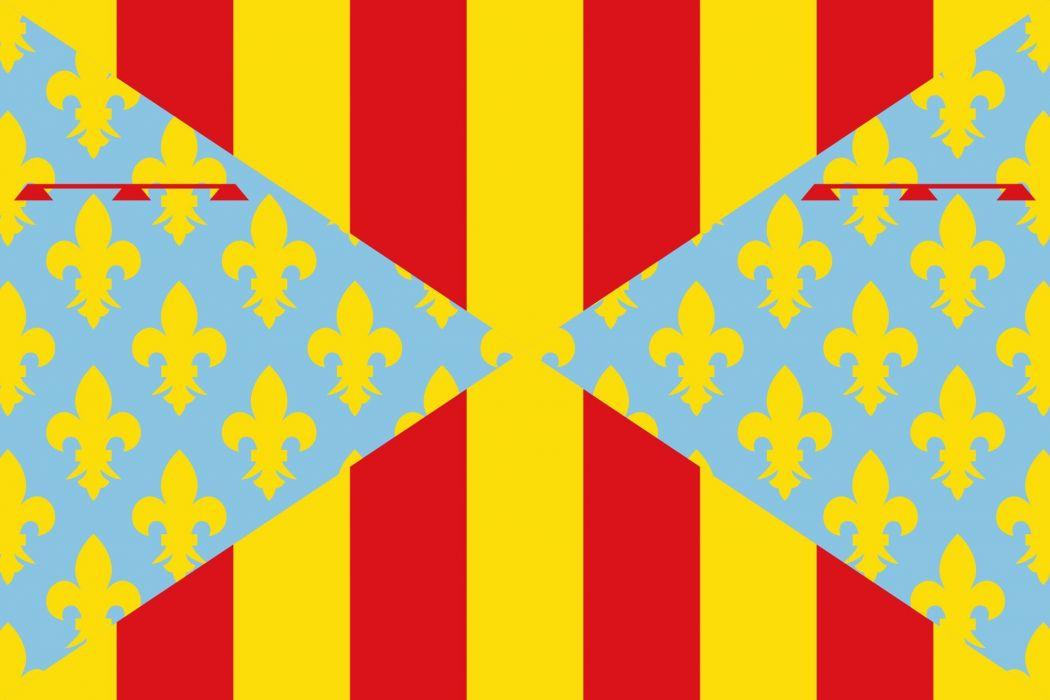 Bandera_de_Prades wallpaper
