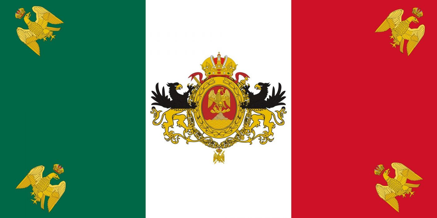 2000px-Flag of Mexico (1864-1867)_svg wallpaper