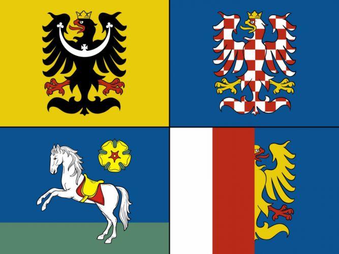 2000px-Flag of Moravian-Silesian Region_svg wallpaper