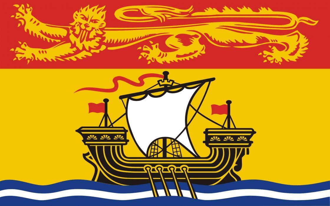 2000px-Flag of New Brunswick_svg wallpaper