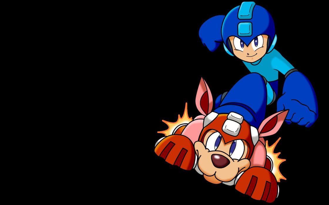Mega Man rush wallpaper