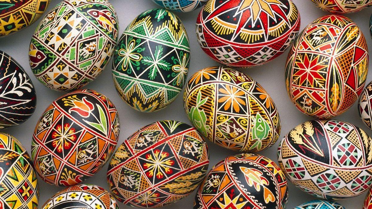 paintings eggs artwork easter eggs wallpaper