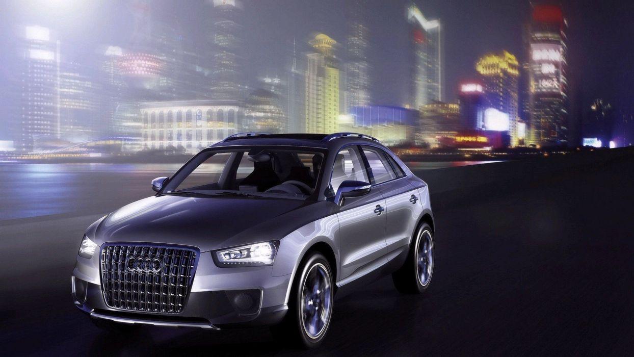 cars Audi roads wallpaper