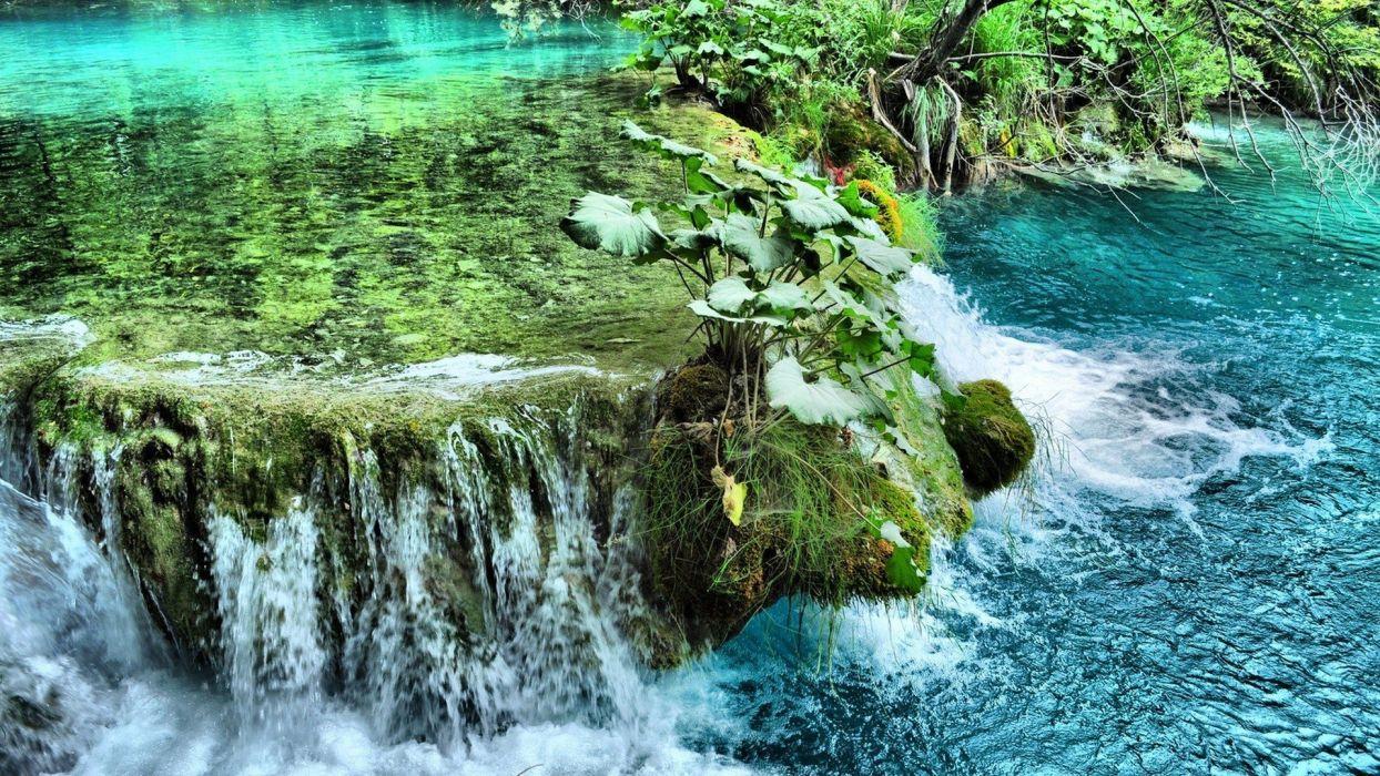 landscapes rivers wallpaper