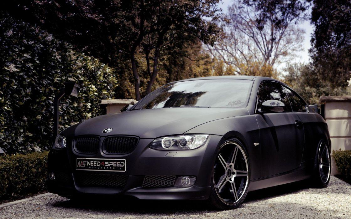BMW black dark cars Need for Speed BMW Series M BMW 3 Series matte games wallpaper