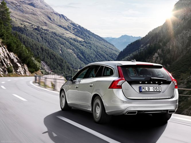 landscapes cars Volvo Hybrid vehicles wallpaper
