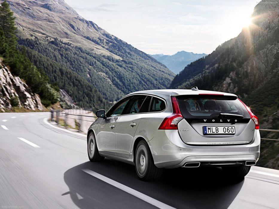 landscapes cars Volvo Hybrid vehicles wallpaper