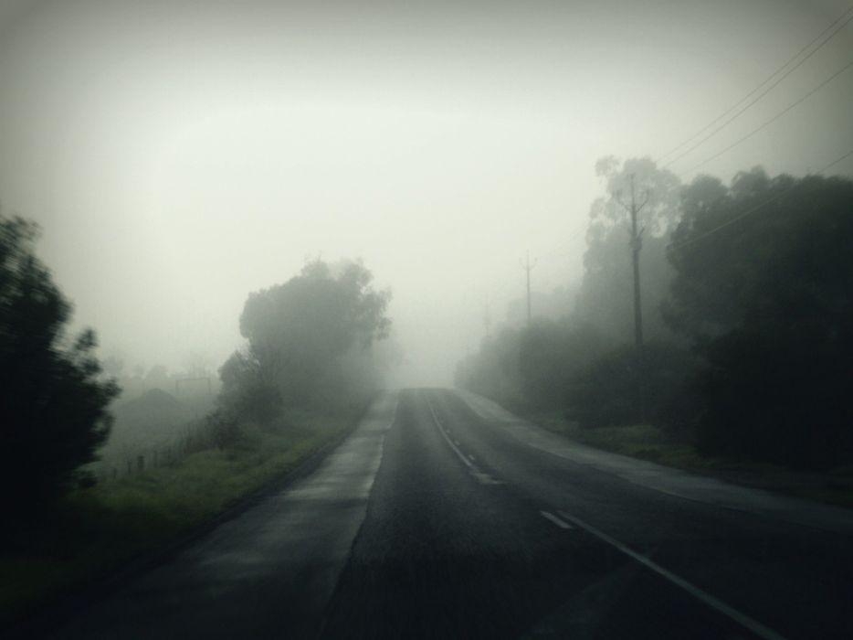 landscapes fog Silent Hill roads wallpaper