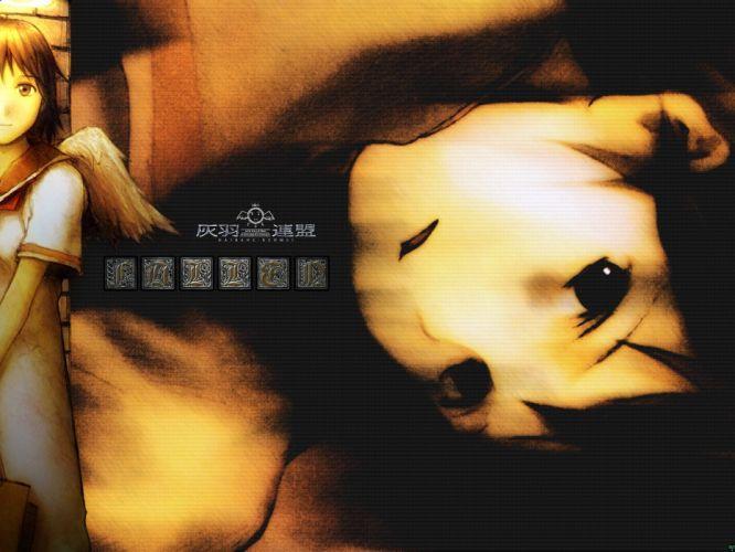 Haibane Renmei Serial Experiments Lain wallpaper