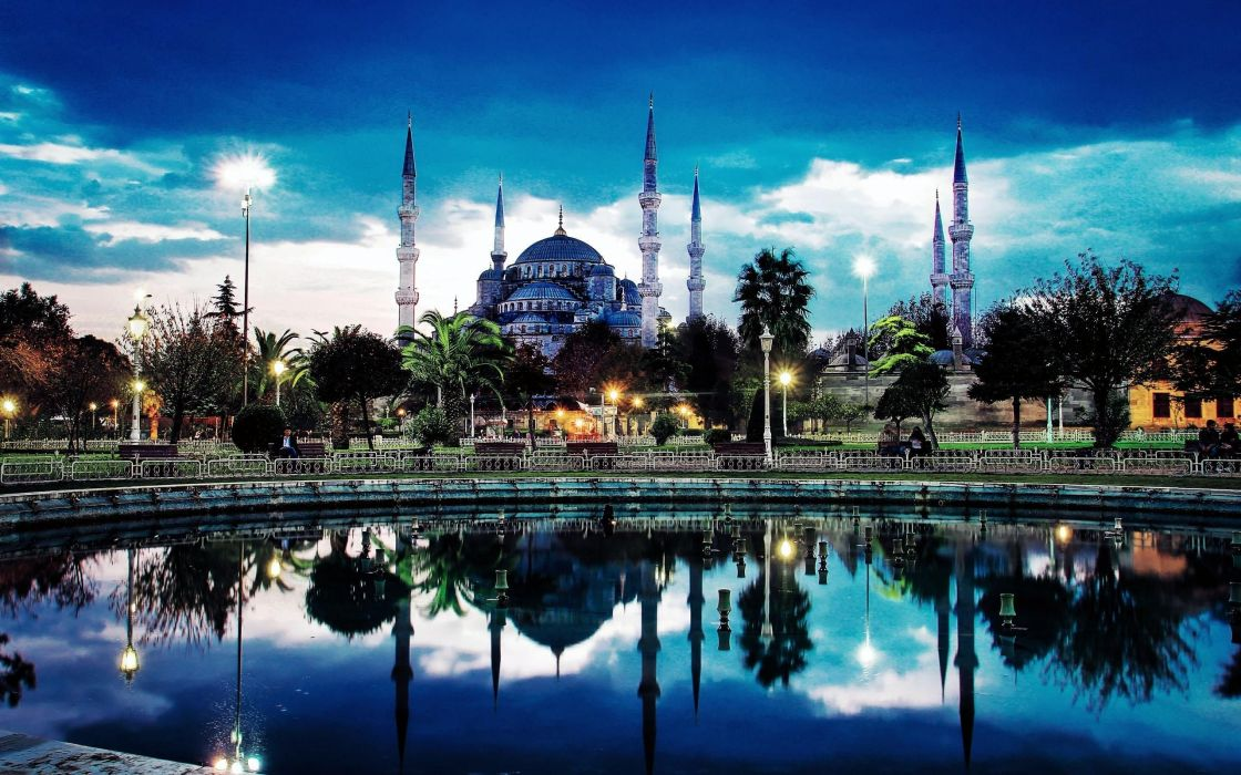 cityscapes Turkey Istanbul cities Sultan Ahmet wallpaper