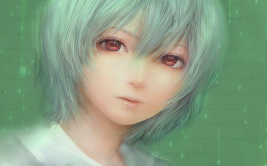 Ayanami Rei Neon Genesis Evangelion Miche wallpaper