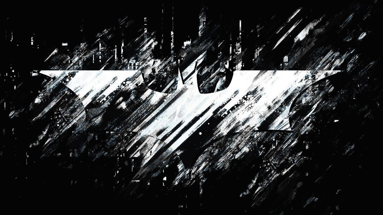 Black And White Batman Movies The Dark Knight Rises Background Logo Wallpaper