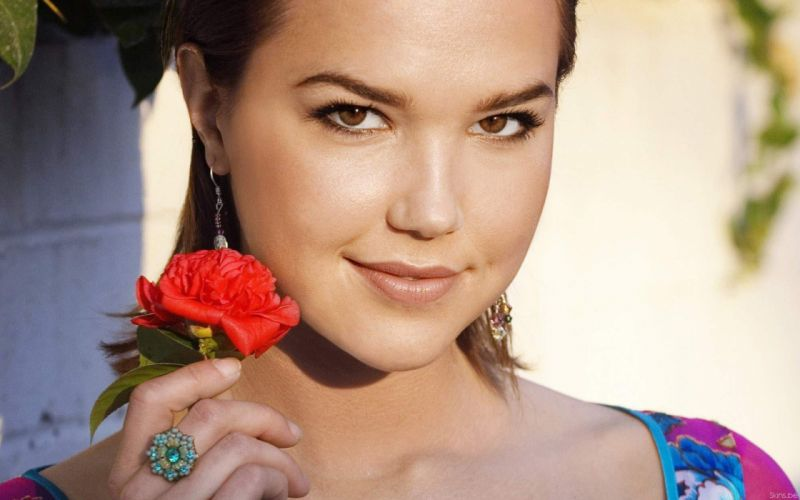 women actress models Arielle Kebbel photo shoot wallpaper