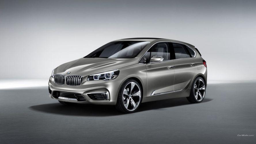 BMW cars concept car BMW Active Tourer wallpaper