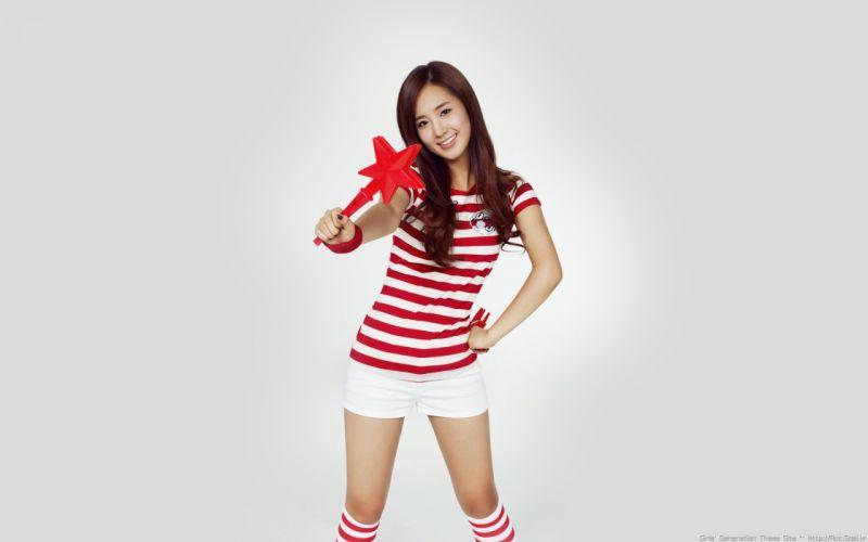 women Girls Generation SNSD Kwon Yuri wallpaper
