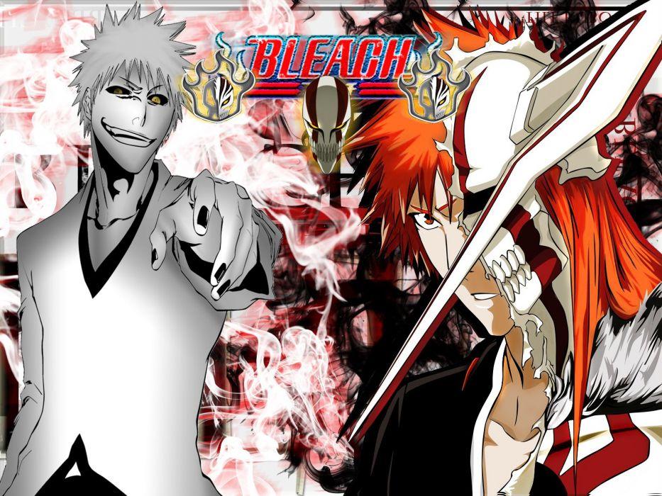 Bleach Kurosaki Ichigo Hollow Ichigo wallpaper