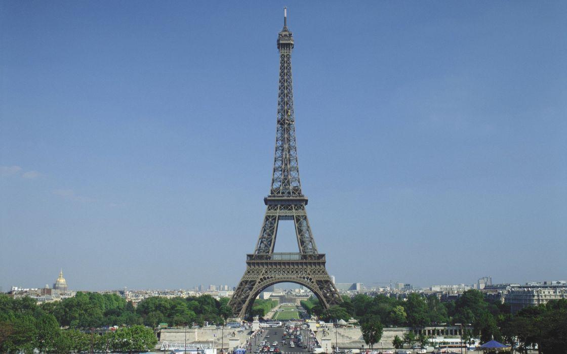 Eiffel Tower Paris cityscapes architecture France Europe wallpaper