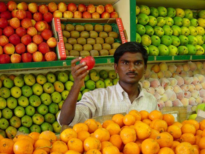 market apples wallpaper