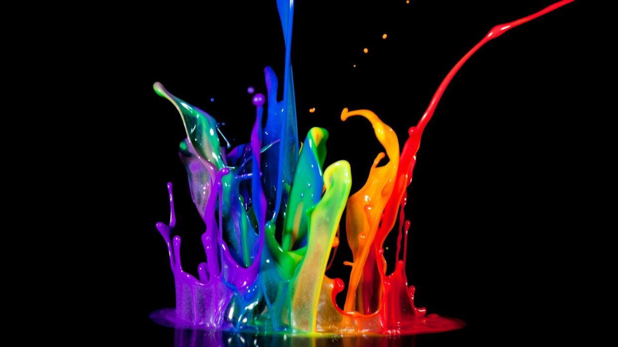 paint colors splashes wallpaper