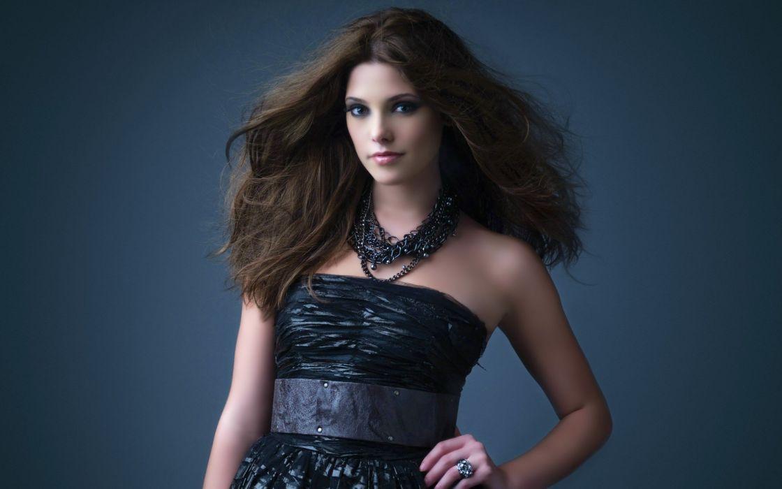 brunettes women models Ashley Greene wallpaper