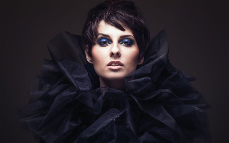 brunettes women models fashion wallpaper