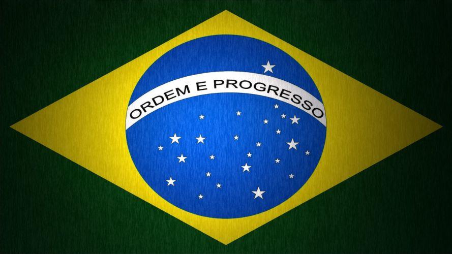 flags Brazil wallpaper