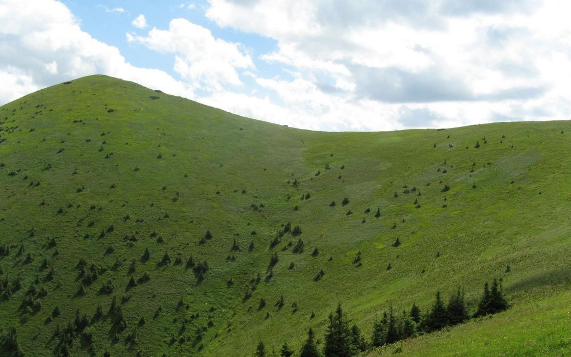 landscapes hills wallpaper